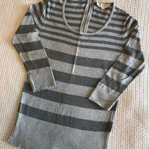 Casual stripped sweater